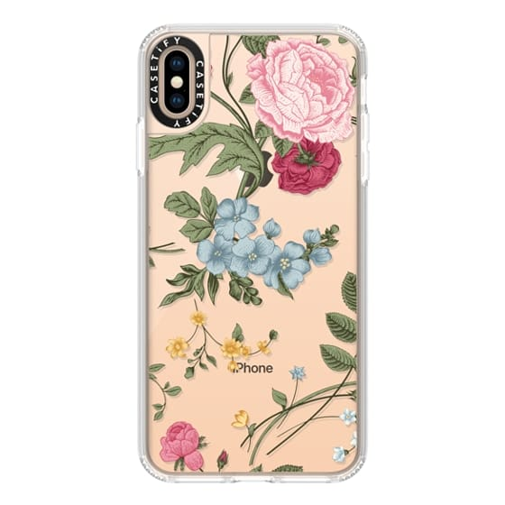 iPhone XS Max Cases - Vintage Floral