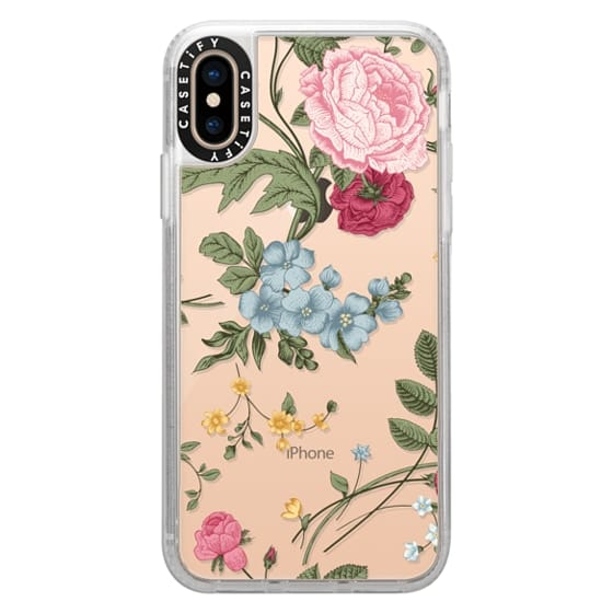 iPhone XS Cases - Vintage Floral