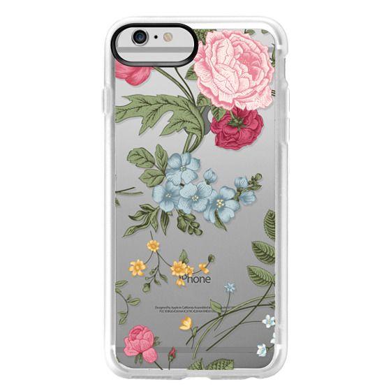iPhone 6 Plus Cases - Vintage Floral