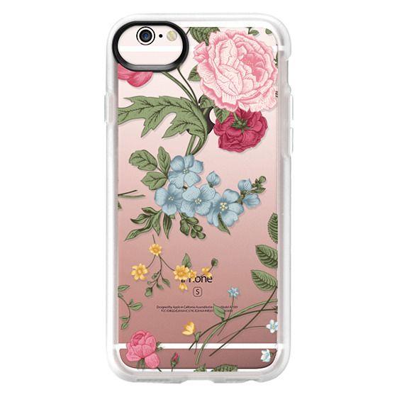 iPhone 6s Cases - Vintage Floral