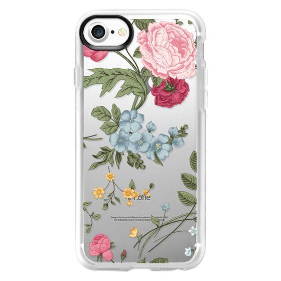 iPhone 7 Cases - Vintage Floral