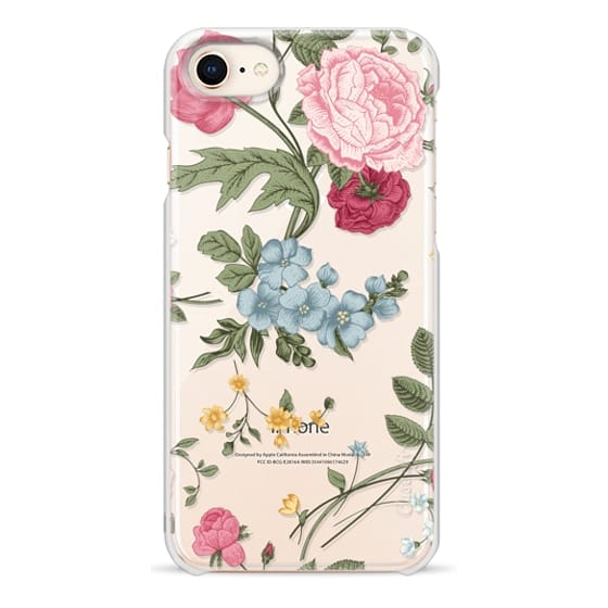 iPhone 8 Cases - Vintage Floral