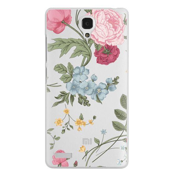 Redmi Note Cases - Vintage Floral