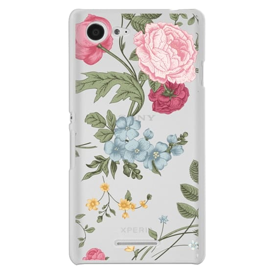 Sony E3 Cases - Vintage Floral