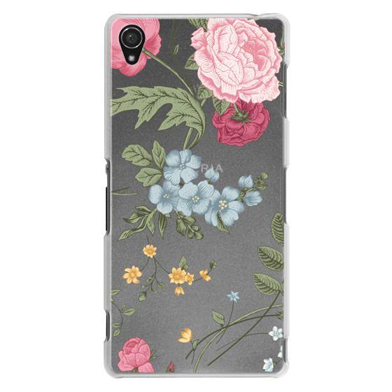 Sony Z3 Cases - Vintage Floral