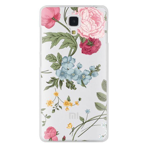 Xiaomi 4 Cases - Vintage Floral