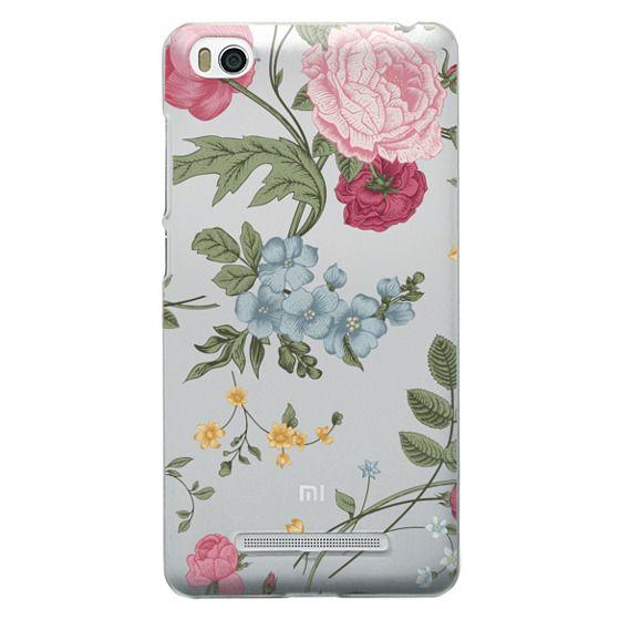 Xiaomi 4i Cases - Vintage Floral
