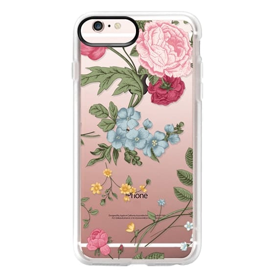 iPhone 6s Plus Cases - Vintage Floral