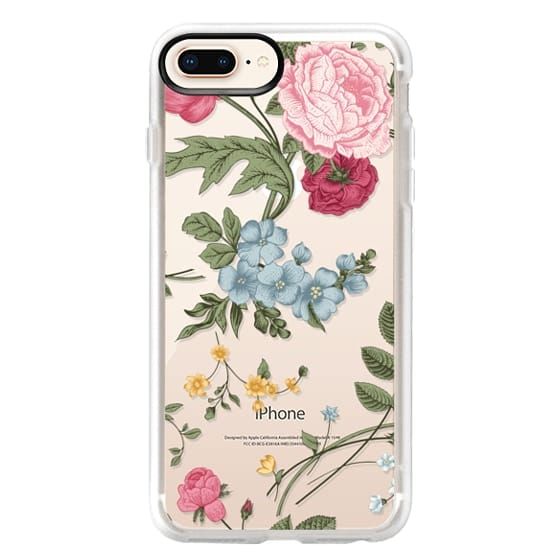 iPhone 8 Plus Cases - Vintage Floral
