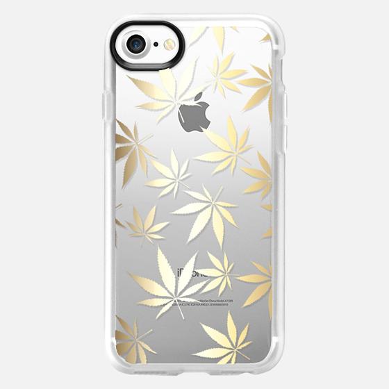 Golden Mary Jane  - Wallet Case