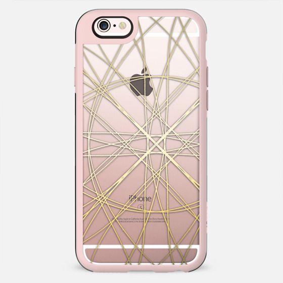 Spun Gold - on shine through transparent - New Standard Case
