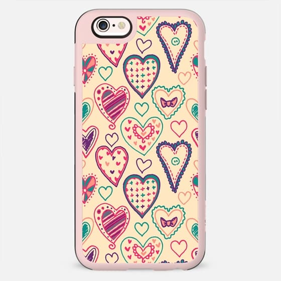 Girly Heart Doodle - New Standard Case