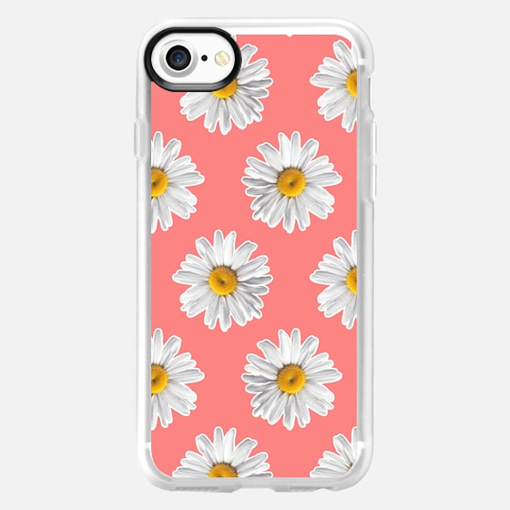 Daisies on Pink - Wallet Case