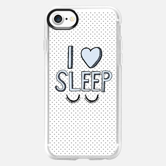I Love Sleep - Wallet Case