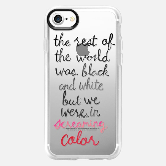 Screaming Color - Taylor Swift Quote - Wallet Case