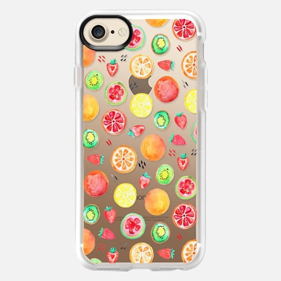 Fruit Salad on Clear - Classic Grip Case