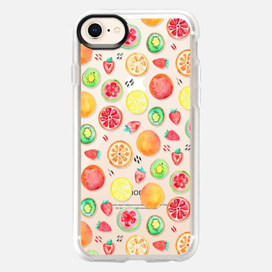Fruit Salad on Clear - Snap Case