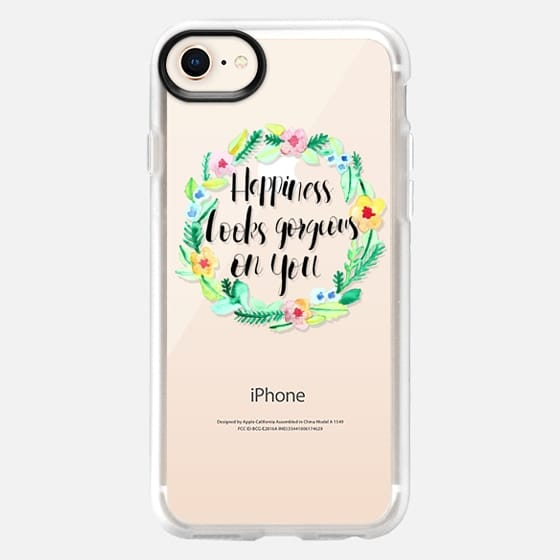 Happiness Looks Gorgeous on You - Snap Case