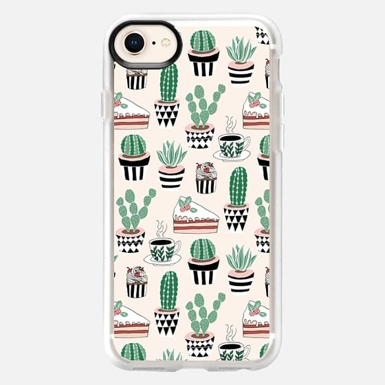 Cacti, Coffee & Cake - Snap Case