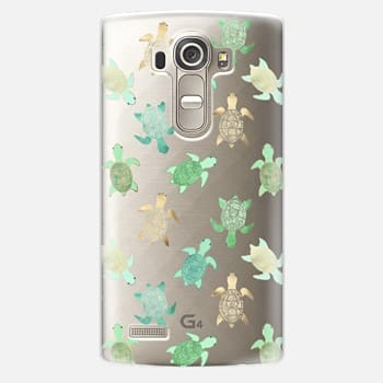 LG G4 Case Turtles on Clear II