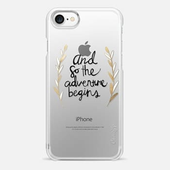 iPhone 7 Case The Adventure Begins on Clear