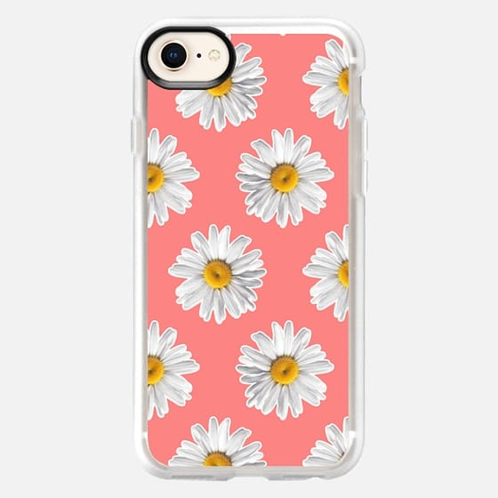 Daisies on Pink - Snap Case