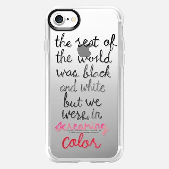 Screaming Color - Taylor Swift Quote - Classic Grip Case