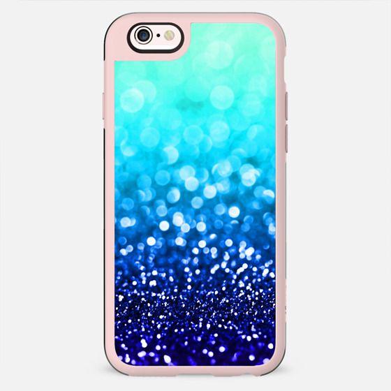 Indigo Haze - Indigo & Aqua Glitter - New Standard Case