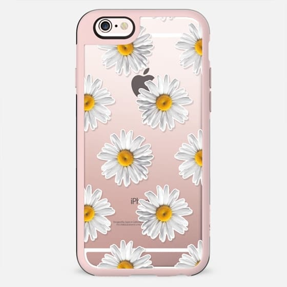 Daisies on Wood - New Standard Case
