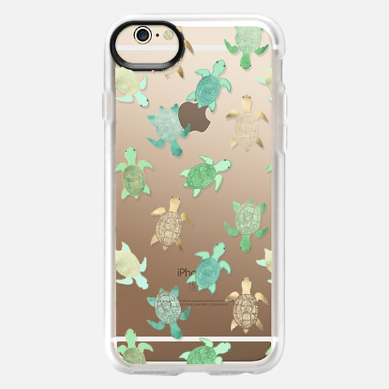 iPhone 6s Capa - Turtles on Clear II