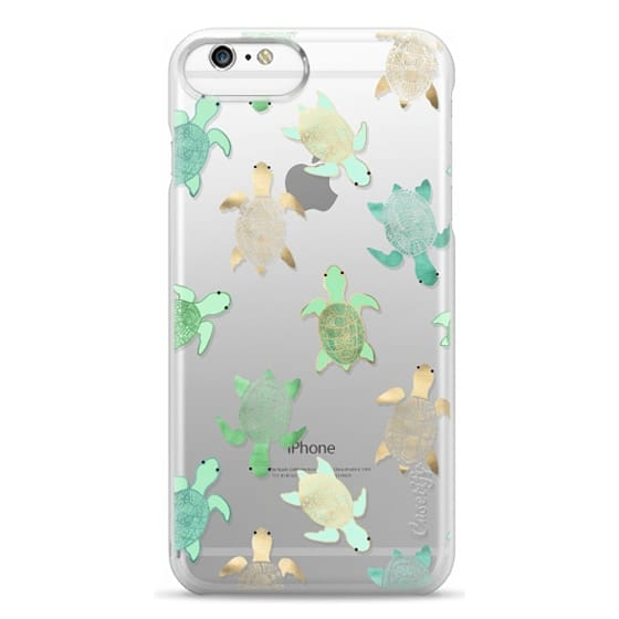 iPhone 6s Cases - Turtles on Clear