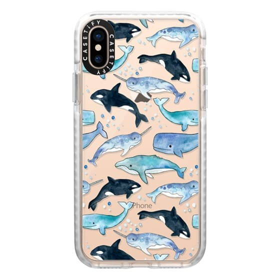 iPhone XS Cases - Whales, Orcas & Narwhals