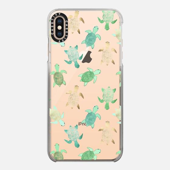 iPhone 7 Plus/7/6 Plus/6/5/5s/5c Case - Turtles on Clear II