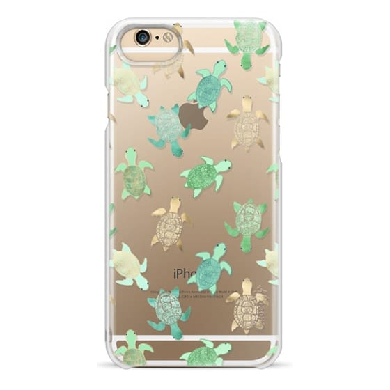 iPhone 6 Cases - Turtles on Clear II