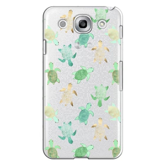 Optimus G Pro Cases - Turtles on Clear II