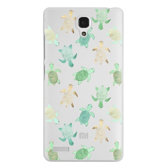 Redmi Note Cases - Turtles on Clear II