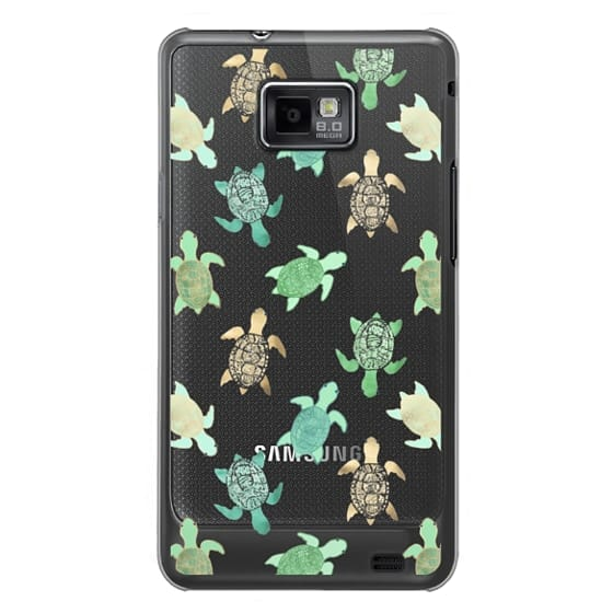 Samsung Galaxy S2 Cases - Turtles on Clear II