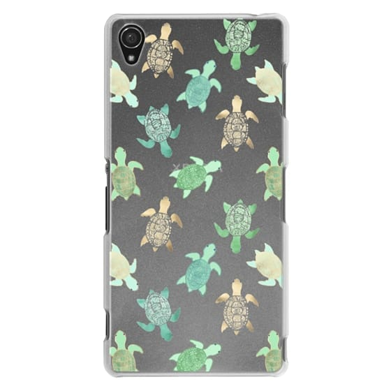 Sony Z3 Cases - Turtles on Clear II