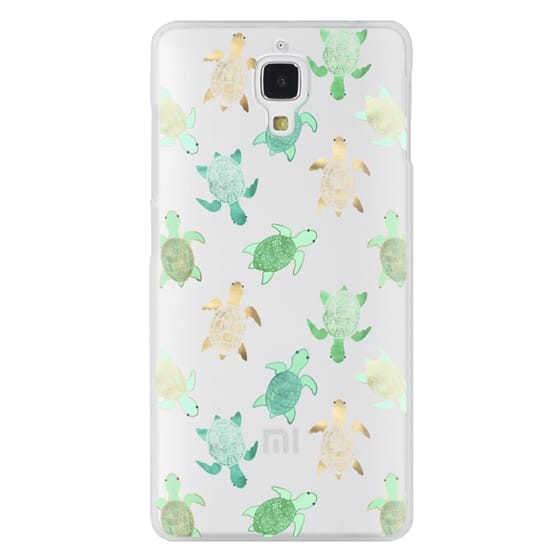 Xiaomi 4 Cases - Turtles on Clear II