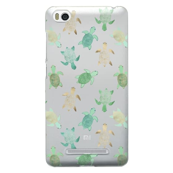 Xiaomi 4i Cases - Turtles on Clear II