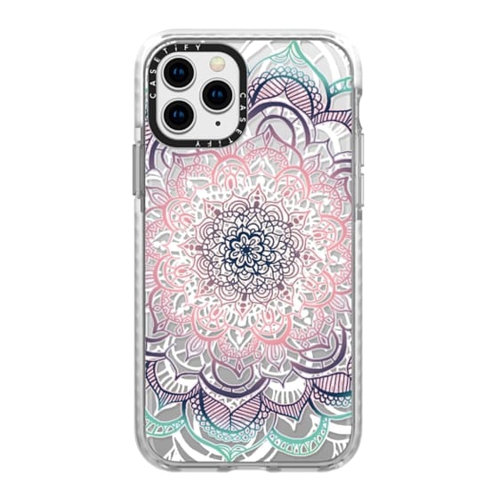 iPhone 11 Pro Cases - Mermaid Medallion on Clear