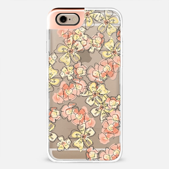 orange and yellow flowers metal luxe -