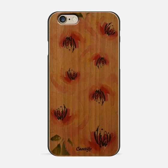 pastel flowers - Wallet Case