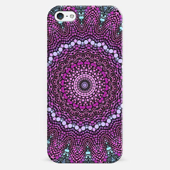 purple and blue kaleidoscope