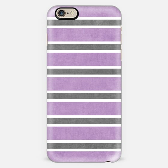 purple and gray stripes -