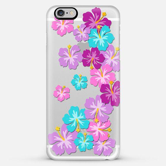 hibiscus garden - Classic Snap Case