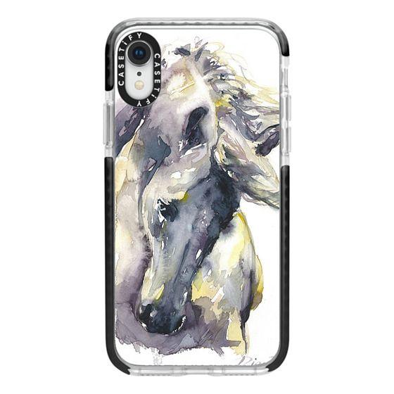 White Horse watercolor