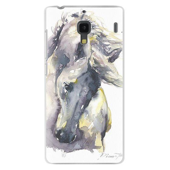 Redmi 1s Cases - White Horse watercolor