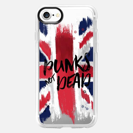 punks not dead flag - Classic Grip Case
