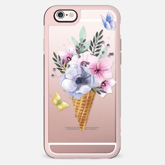 Cone flowers watercolor - New Standard Case